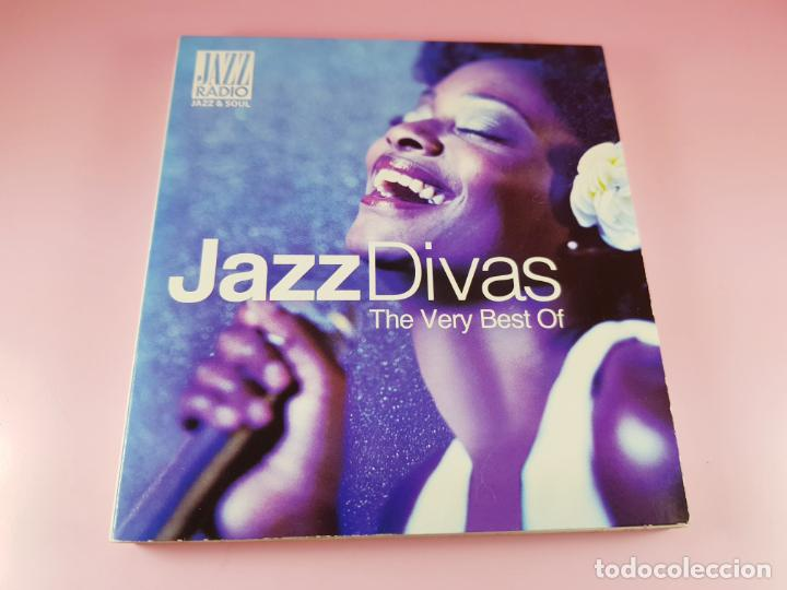 CD DOBLE-JAZZ DIVAS.THE VERY BEST OF-JAZ RADIO-2011-WAGRAM MUSIC. (Música - CD's Jazz, Blues, Soul y Gospel)