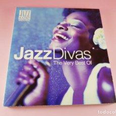 CDs de Música: CD DOBLE-JAZZ DIVAS.THE VERY BEST OF-JAZ RADIO-2011-WAGRAM MUSIC.. Lote 191646992