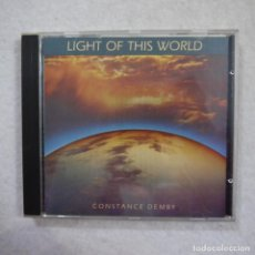 CD de Música: CONSTANCE DEMBY - LIGHT OF THIS WORLD - CD. Lote 191649948