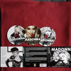 CDs de Música: MADONNA: TRANSMISSION IMPOSSIBLE, LEGENDARY RADIO BROADCASTS FROM THE 1980-1990, 3CD'S LIVE.. Lote 191656268