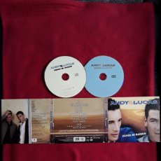 CDs de Música: ANDY & LUCAS: DESDE MI BARRIO. CD+ DVD 2004.. Lote 191658495