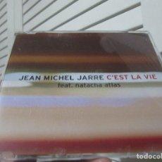 CDs de Música: JEAN MICHEL JARRE - NATACHA ATLAS - C'EST LA VIE. Lote 191658903