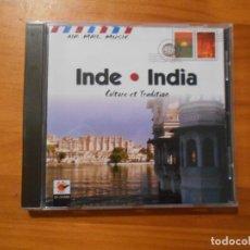 CDs de Música: CD INDE - INDIA - CULTURE ET TRADITION (FN). Lote 191673108