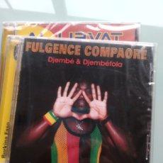 CDs de Música: FULGENCE COMPAORÉ – DJEMBÉ & DJEMBÉFOLA (NUEVO.PRECINTADO). Lote 191673190