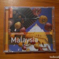 CDs de Música: CD MALAYSIA - THE ROUGH GUIDE TO THE MUSIC (EU). Lote 191673355