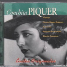 CDs de Música: CONCHITA PIQUER. EXITOS ORIGINALES / CD DE 1997 RF-2024 , PERFECTO ESTADO. Lote 191674620