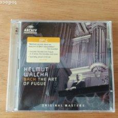 CDs de Música: BACH - WALCHA: EL ARTE DE LA FUGA (2 CDS). Lote 191698810