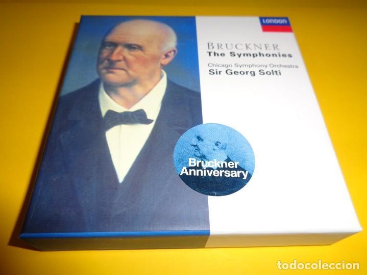 ANTON BRUCKNER / THE SYMPHONIES / SIR GEORG SOLTI / 10 CD (Música - CD's Clásica, Ópera, Zarzuela y Marchas)