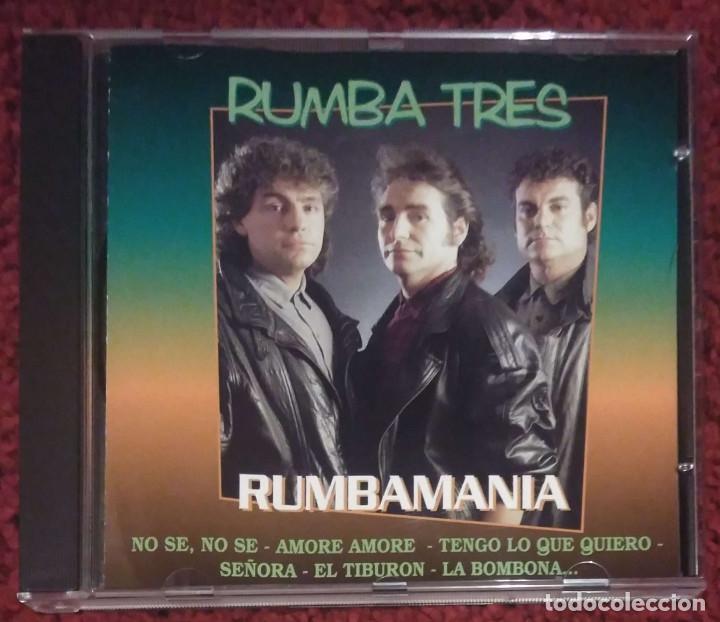 RUMBA TRES (RUMBAMANIA) CD 1996 - 11 TEMAS (Música - CD's Flamenco, Canción española y Cuplé)