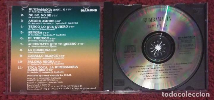 CDs de Música: RUMBA TRES (RUMBAMANIA) CD 1996 - 11 Temas - Foto 3 - 191713917