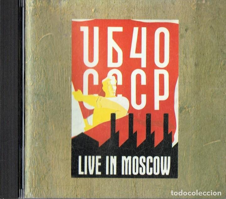 UB40 CCCP LIVE IN MOSCOW (CD) (Música - CD's Reggae)