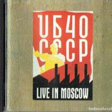 CDs de Música: UB40 CCCP LIVE IN MOSCOW (CD). Lote 191715928