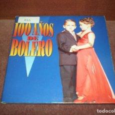 CDs de Música: CD SINGLE PROMO CARPETA 100 AÑOS DE BOLERO / ANA BELEN, GLORIA ESTAFAN PANCHOS 4 TRACKS CARTON. Lote 191725427