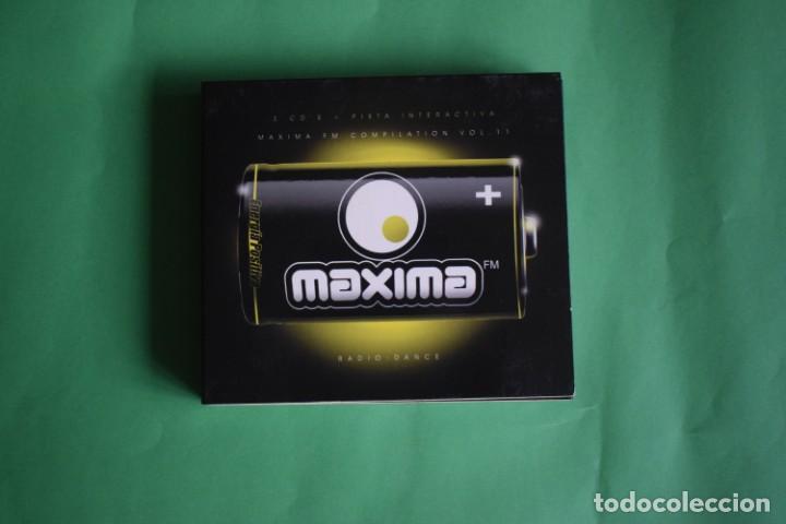 MAXIMA VOLUMEN 11 (Música - CD's Techno)