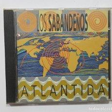 CDs de Música: LOS SABANDEÑOS - ATLANTIDA CD (MANZANA 1994). Lote 191732835