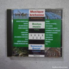 CDs de Música: MUSIQUE BRETONNE D'AUJOURD'HUI - CD 1994 . Lote 191736146