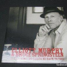 CDs de Música: ELLIOTT MURPHY & BRUCE SPRINGSTEEN CD PROMOCIONAL. Lote 191741242