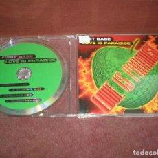 CDs de Música: CD MAXI SINGLE FIRST BASE / LOVE IS PARADISE - 4 TRACKS - CAJA FINA PLASTICO. Lote 191745996