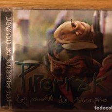 CDs de Música: PIPERRAK: LOS MUERTOS DE SIEMPRE. Lote 191753983