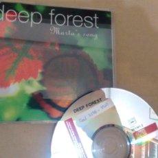 CDs de Música: CD-SINGLE -PROMOCION- DE DEEP FOREST. Lote 191758783