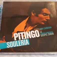 CDs de Música: PITINGO / SOULERÍA / CON JUAN CARMONA / CD - UNIVERSAL-2008 / 17 TEMAS / BUENA CALIDAD.. Lote 191770413