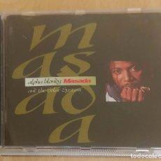 CDs de Música: ALPHA BLONDY & THE SOLAR SYSTEM (MASADA) CD 1992. Lote 191787405