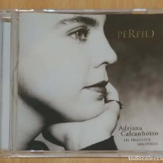 CDs de Música: ADRIANA CALCANHOTTO (PERFIL - OS MAIORES SUCESSOS) CD 2001. Lote 191788400
