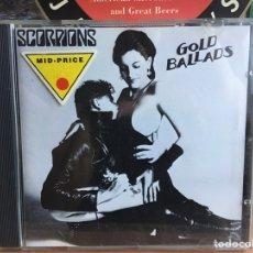 CDs de Música: SCORPIONS - GOLD BALLADS (CD) (HARVEST). Lote 191797338