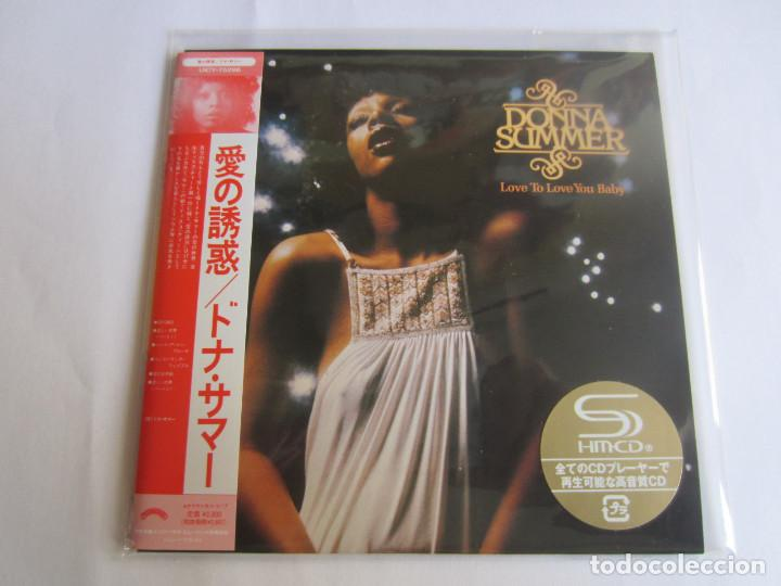 DONNA SUMMER - LOVE TO LOVE YOU BABY 1975/2012 JAPAN MINI LP SHM CD UICY-75296 (Música - CD's Jazz, Blues, Soul y Gospel)