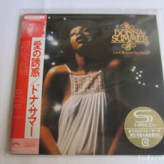 CDs de Música: DONNA SUMMER - LOVE TO LOVE YOU BABY 1975/2012 JAPAN MINI LP SHM CD UICY-75296. Lote 191797567