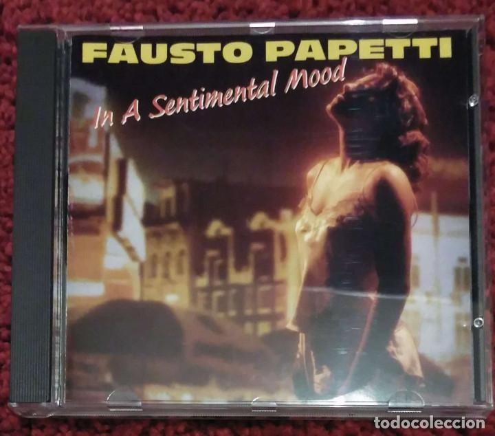 FAUSTO PAPETTI (IN A SENTIMENTAL MOOD - IL DISCO D'ORO) CD 1990 (Música - CD's Jazz, Blues, Soul y Gospel)