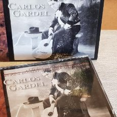 CDs de Música: CARLOS GARDEL / THE GOLD COLLECTION / DOBLE CD-BOX - RETRO / 40 TEMAS / CALIDAD LUJO.. Lote 191803411