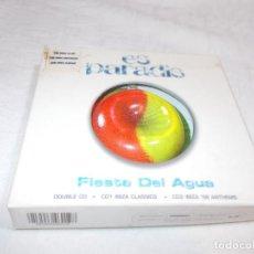 CDs de Música: ES PARADIS FIESTA DEL AGUA DOBLE CD. Lote 191804561