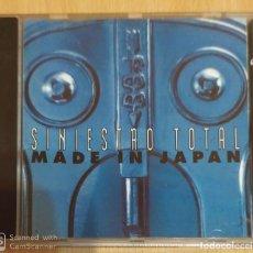 CDs de Música: SINIESTRO TOTAL (MADE IN JAPAN) CD 1993. Lote 191830178