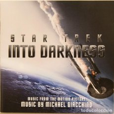 CDs de Musique: STAR TREK: INTO DARKNESS / MICHAEL GIACCHINO ‎CD BSO. Lote 191848390