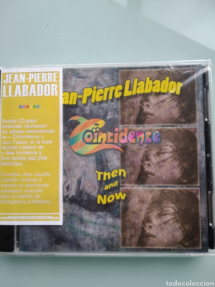 JEAN-PIERRE LLABADOR ‎– COÏNCIDENCE, THEN AND NOW (NUEVO.PRECINTADO) (Música - CD's Jazz, Blues, Soul y Gospel)