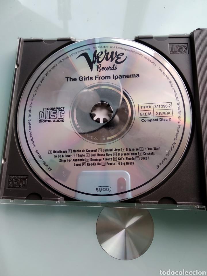 CDs de Música: Various – The Girls From Ipanema (Doble CD - Recopilación de Verve) - Foto 2 - 191864342