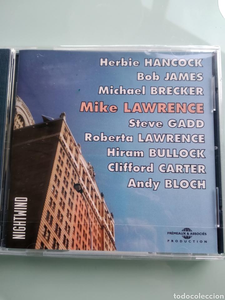 MIKE LAWRENCE – NIGHTWIND (NUEVO. PRECINTADO) INENCONTRABLE (Música - CD's Jazz, Blues, Soul y Gospel)