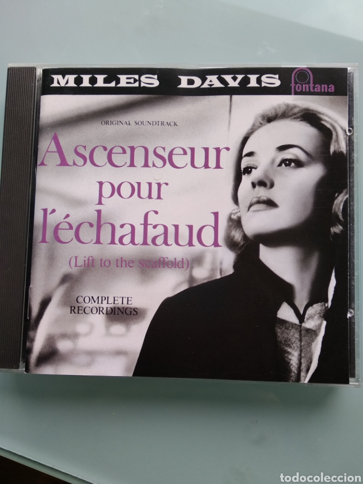 MILES DAVIS ‎– ASCENSEUR POUR L'ÉCHAFAUD (LIFT TO THE SCAFFOLD) VERSIÓN ALEMANA DE FONTANA (Música - CD's Jazz, Blues, Soul y Gospel)