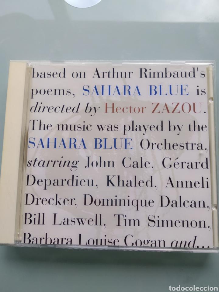 HECTOR ZAZOU – SAHARA BLUE (Música - CD's Jazz, Blues, Soul y Gospel)