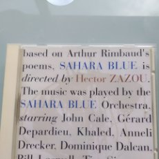 CDs de Música: HECTOR ZAZOU – SAHARA BLUE. Lote 191865688