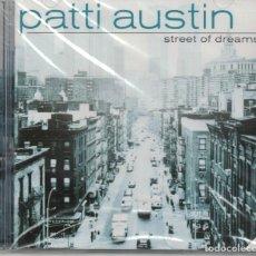 CDs de Música: PATTI AUSTIN - STREET OF DREAMS (CD, SUM RECORDS 1996, PRECINTADO). Lote 191866346