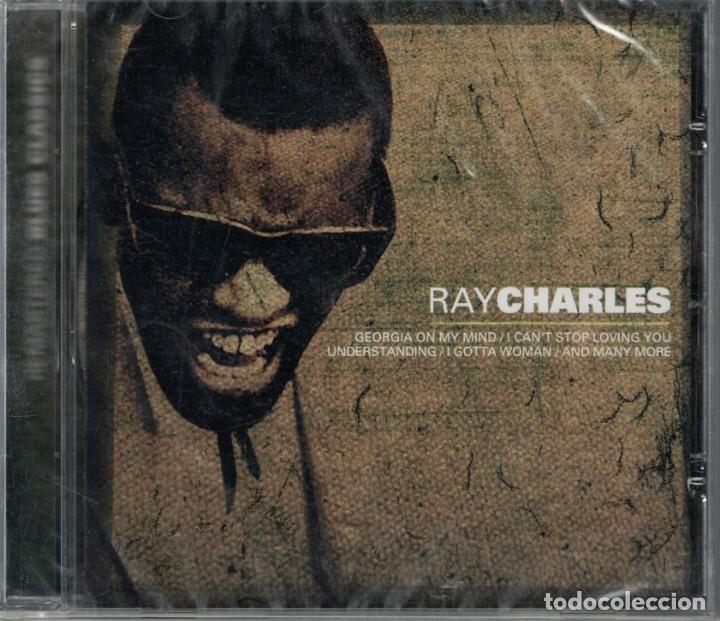 RAY CHARLES - BLUE CLASSICS (CD, SUM RECORDS 2004, PRECINTADO) (Música - CD's Jazz, Blues, Soul y Gospel)