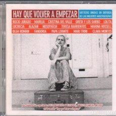 CDs de Música: HAY QUE VOLVER A EMPEZAR - DOBLE CD DE 2001 RF-1849 , PERFECTO ESTADO. Lote 191884543