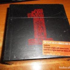 CDs de Música: ELVIS PRESLEY 18 UK # 1S BOX SET PRECINTADO EDICION LIMITADA 2005 18 CD SINGLE CARTON RCA CAJA RARO. Lote 191885612