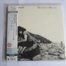 CDs de Música: GINO VANNELLI - BROTHER TO BROTHER 1978/2011 JAPAN MINI LP SHM CD UICY-75088. Lote 191887673