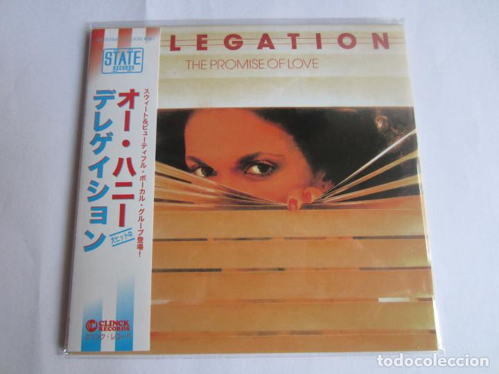 DELEGATION - THE PROMISE OF LOVE + 2 BONUS TRACKS 1977/2014 JAPAN MINI LP CD CLINCK-3596 (Música - CD's Jazz, Blues, Soul y Gospel)