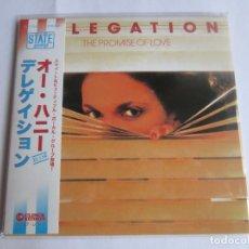 CDs de Música: DELEGATION - THE PROMISE OF LOVE + 2 BONUS TRACKS 1977/2014 JAPAN MINI LP CD CLINCK-3596. Lote 191893963