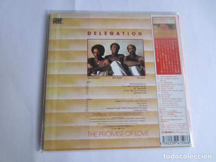 CDs de Música: DELEGATION - THE PROMISE OF LOVE + 2 BONUS TRACKS 1977/2014 JAPAN MINI LP CD CLINCK-3596 - Foto 2 - 191893963