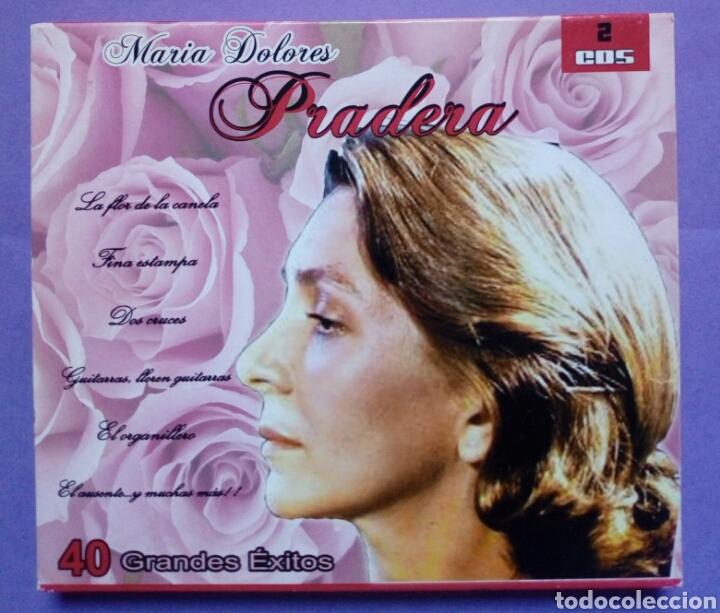 MARIA DOLORES PRADERA - 40 GRANDES ÉXITOS 2 CDS (Música - CD's Flamenco, Canción española y Cuplé)
